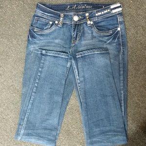 """La Idol skinny jeans 28""""x31.5"""""""